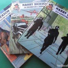 Cómics: HARRY DICKSON TRES TOMOS COMPLETA JUVENTUD. Lote 186301920