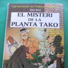 Cómics: LES AVENTURES DEL PROFESOR PALMERA EL MISTERI DE LA PLANTA TAKO EDITORIAL JUBENTUD. Lote 186302256
