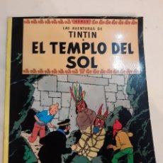 Cómics: 1984 EL TEMPLO DEL SOL AVENTURAS TINTIN JUVENTUD. Lote 186307268