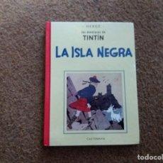 Cómics: LA ISLA NEGRA. TINTÍN. TAMAÑO REDUCIDO. VERSIÓN BLANCO Y NEGRO. CASTERMAN. PANINI. DIFÍCIL. 2003.. Lote 187164693