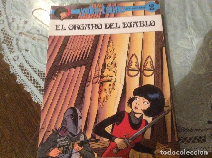 ALBUM EN RUSTICA DE YOKO TSUNO Nº2, EL ORGANO DEL DIABLO (Tebeos y Comics - Juventud - Yoko Tsuno)