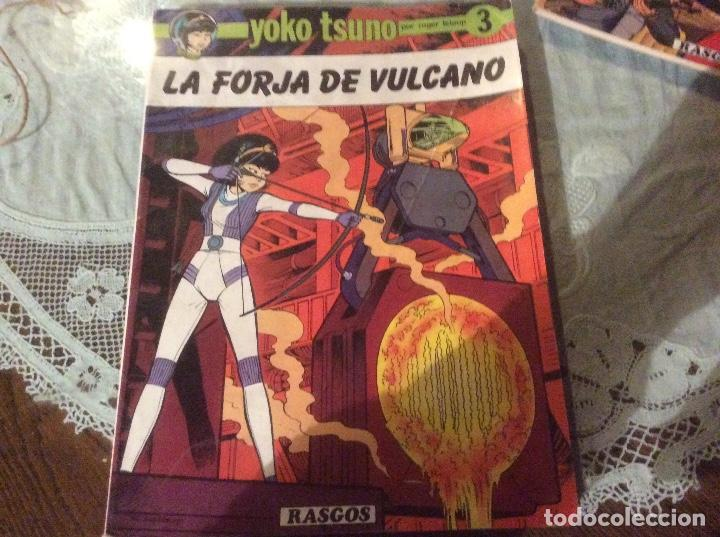 YOKO TSUNO 3 – LA FORJA DE VULCANO. ROGER LELOUP. RASGOS 1983. TAPA BLANDA (Tebeos y Comics - Juventud - Yoko Tsuno)