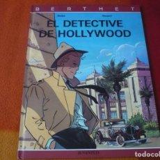 Cómics: EL DETECTIVE DE HOLLYWOOD ( BERTHET RIVIERE ) ¡MUY BUEN ESTADO! TAPA DURA JUVENTUD. Lote 188569207