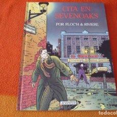 Cómics: CITA EN SEVENOAKS ( FLOCH RIVIERE ) ¡MUY BUEN ESTADO! TAPA DURA JUVENTUD. Lote 188570768