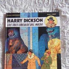 Cómics: HARRY DICKSON - LOS TRES CIRCULOS DEL MIEDO N. 3. Lote 188741561