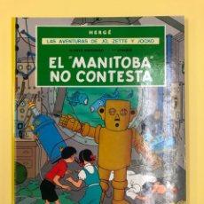 Cómics: EL MANITOBA NO CONTESTA - LAS AVENTURAS DE JO, ZETTE Y JOCKO - JUVENTUD 2ª ED 1984 - MUY BUEN ESTAD. Lote 188746355