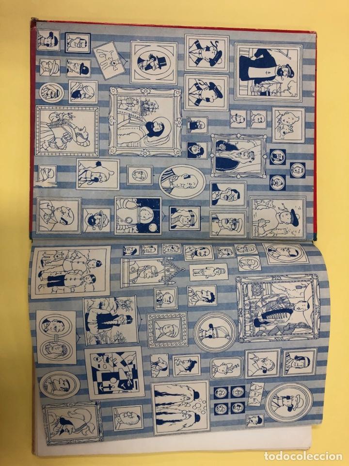 Cómics: TINTIN - EL LOTO AZUL - EDITORIAL JUVENTUD 1ª EDICION 1965 - LOMO AZUL - Foto 3 - 188747633