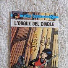 Cómics: YOKO TSUNO - L´ORGUE DEL DIABLE - N. 2 - CATALA. Lote 189077551
