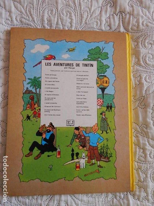 Cómics: TINTIN - STOC DE COC - CATALA - Foto 2 - 189078717