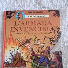 Cómics: CORI EL GRUMET - L´ARMADA INVENCIBLE - VOLUM 1 - ELS ESPIES DE LA REINA - CATALA. Lote 189163933