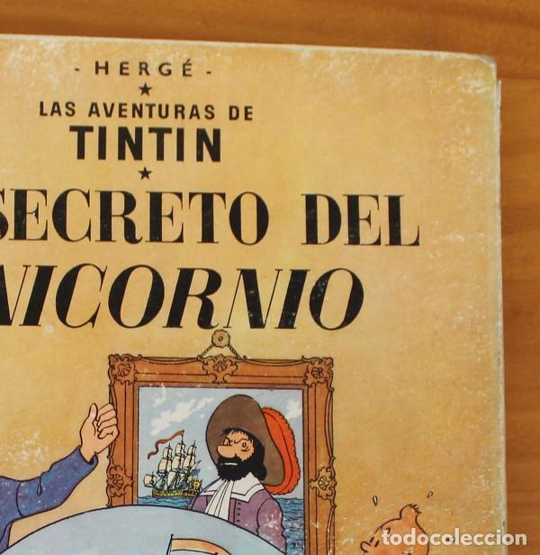 Cómics: TINTIN EL SECRETO DEL UNICORNIO, HERGE. JUVENTUD 1959 PRIMERA EDICION TAPA DURA 1ª - Foto 3 - 189284361