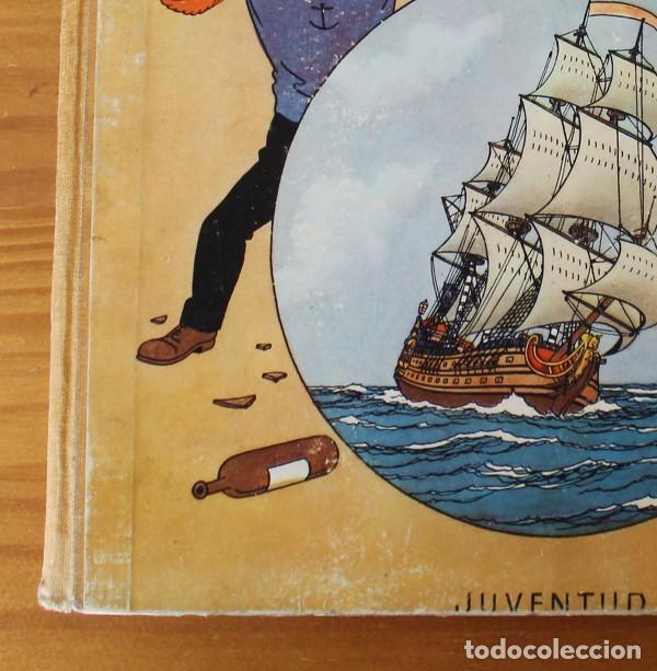 Cómics: TINTIN EL SECRETO DEL UNICORNIO, HERGE. JUVENTUD 1959 PRIMERA EDICION TAPA DURA 1ª - Foto 4 - 189284361