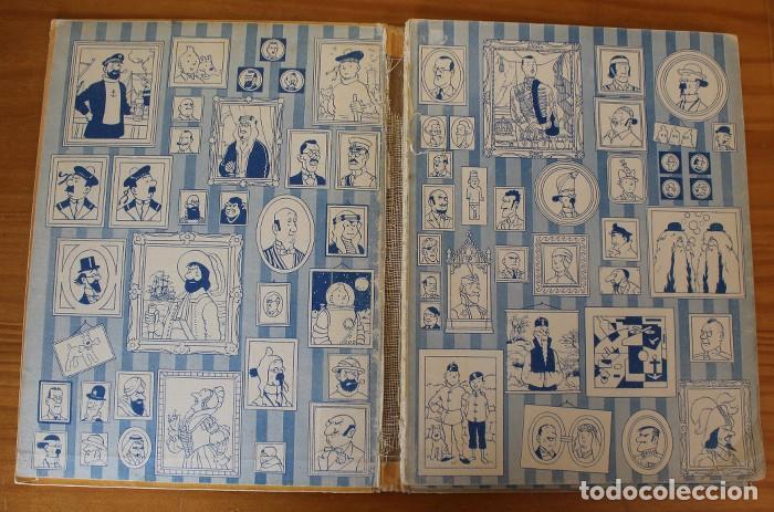 Cómics: TINTIN EL SECRETO DEL UNICORNIO, HERGE. JUVENTUD 1959 PRIMERA EDICION TAPA DURA 1ª - Foto 9 - 189284361