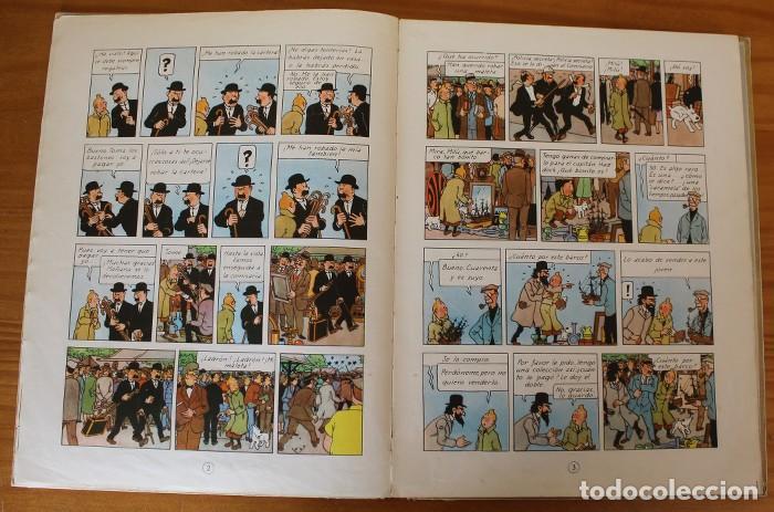 Cómics: TINTIN EL SECRETO DEL UNICORNIO, HERGE. JUVENTUD 1959 PRIMERA EDICION TAPA DURA 1ª - Foto 12 - 189284361
