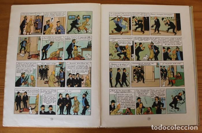 Cómics: TINTIN EL SECRETO DEL UNICORNIO, HERGE. JUVENTUD 1959 PRIMERA EDICION TAPA DURA 1ª - Foto 14 - 189284361