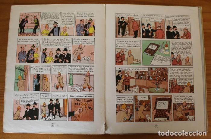 Cómics: TINTIN EL SECRETO DEL UNICORNIO, HERGE. JUVENTUD 1959 PRIMERA EDICION TAPA DURA 1ª - Foto 17 - 189284361