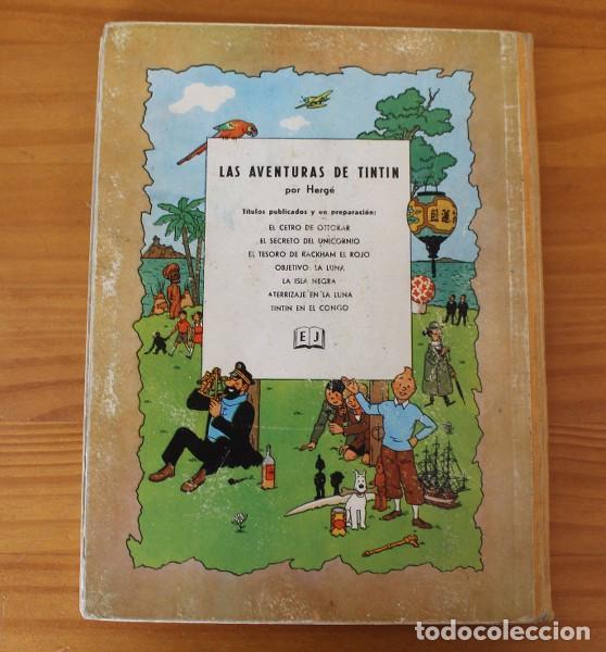 Cómics: TINTIN EL SECRETO DEL UNICORNIO, HERGE. JUVENTUD 1959 PRIMERA EDICION TAPA DURA 1ª - Foto 20 - 189284361