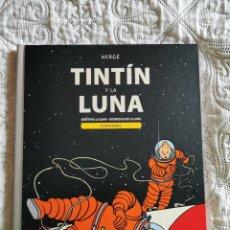 Cómics: TINTIN Y LA LUNA - OBJETIVO LA LUNA - ATERRIZAJE EN LA LUNA - ALBUM DOBLE. Lote 189687491