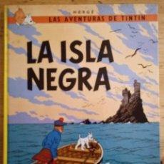 Cómics: LA ISLA NEGRA - HERGÉ - TINTÍN I MILÚ - JUVENTUD 1986 - 10ª EDICIÓ. Lote 189750585