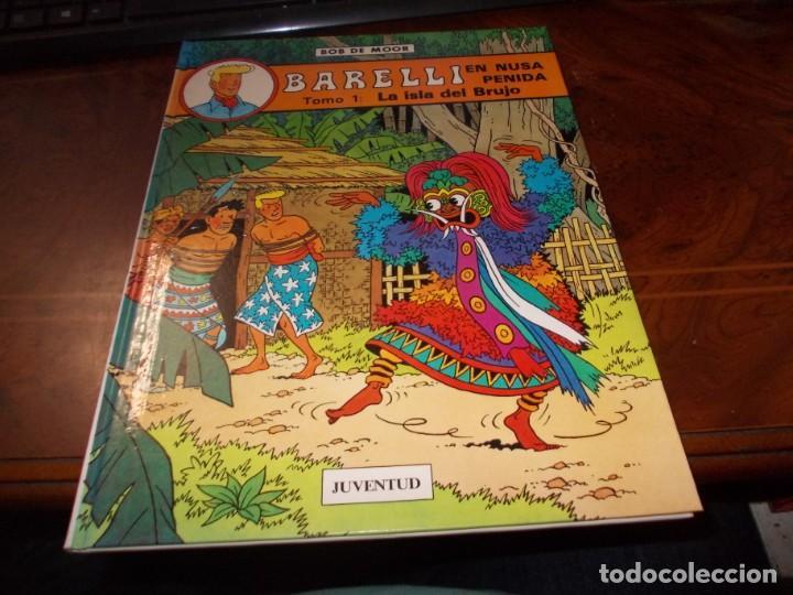 BARELLI Nº 2 EN NUSA PENIDA TOMO 1: LA ISLA DEL BRUJO. BOB DE MOOR. JUVENTUD 1ª ED. 1.990 (Tebeos y Comics - Juventud - Barelli)