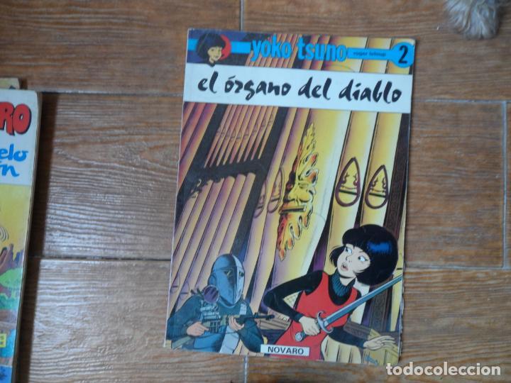 YOKO TSUNO 2 EL ORGANO DEL DIABLO ROGER LELOUP EDITORIAL NOVARO RUSTICA (Tebeos y Comics - Juventud - Yoko Tsuno)