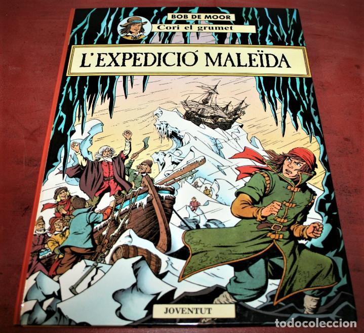 CORI EL GRUMET - L'EXPEDICIÓ MALEÏDA - BOB DE MOOR - ED. JOVENTUT - EN CATALÁN (Tebeos y Comics - Juventud - Cori el Grumete)
