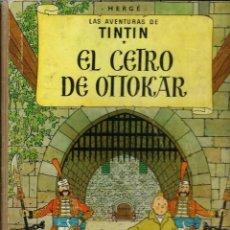 Cómics: HERGE - TINTIN - EL CETRO DE OTTOKAR - JUVENTUD 1958, 1ª PRIMERA EDICION - MUY DIFICIL, VER DESCRIP.. Lote 189930291