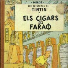 Cómics: HERGE - TINTIN - ELS CIGARS DEL FARAO - JUVENTUD 1965, 2ª EDICIO - BEN CONSERVAT. Lote 189931206