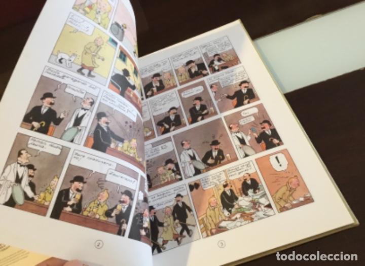 Cómics: Tintin urrezko hagindun karramarro buenisimo estado en euzkera - Foto 10 - 189992992