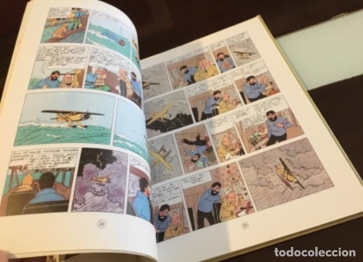 Cómics: Tintin urrezko hagindun karramarro buenisimo estado en euzkera - Foto 11 - 189992992