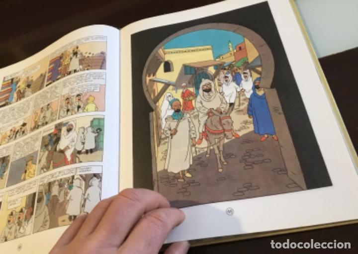 Cómics: Tintin urrezko hagindun karramarro buenisimo estado en euzkera - Foto 12 - 189992992