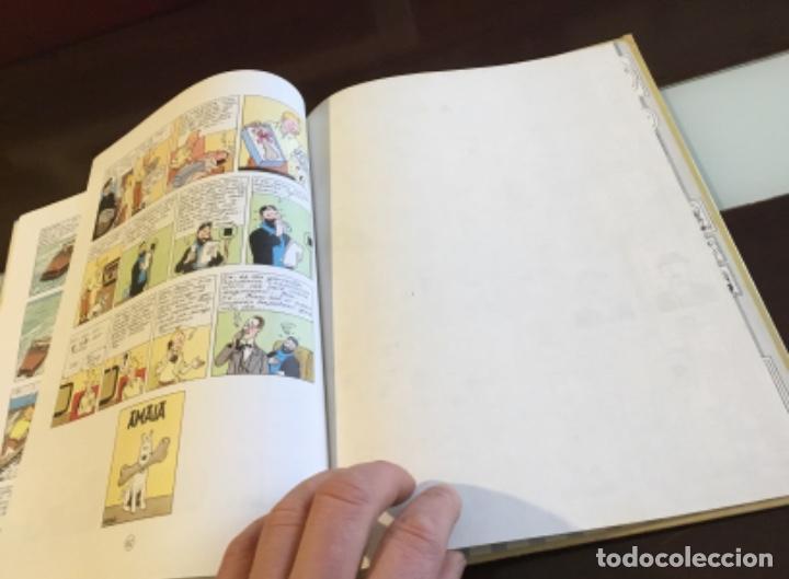 Cómics: Tintin urrezko hagindun karramarro buenisimo estado en euzkera - Foto 13 - 189992992