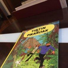 Cómics: TINTIN ETA PIKAROAK BUENISIMO ESTADO EN EUSKERA. Lote 189993891