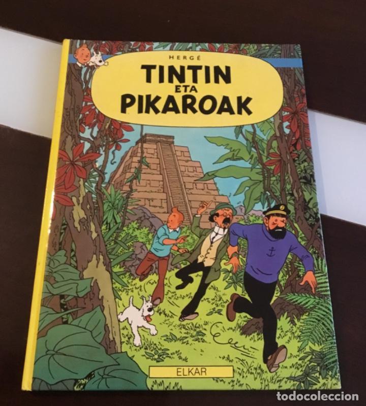 Cómics: Tintin eta pikaroak buenisimo estado en euskera - Foto 2 - 189993891