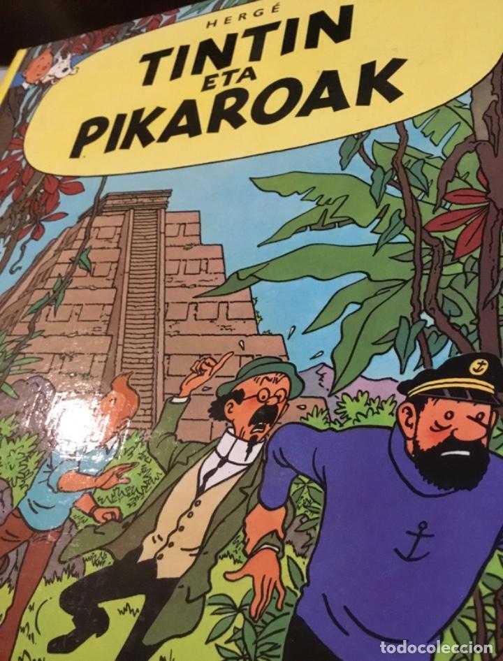 Cómics: Tintin eta pikaroak buenisimo estado en euskera - Foto 3 - 189993891