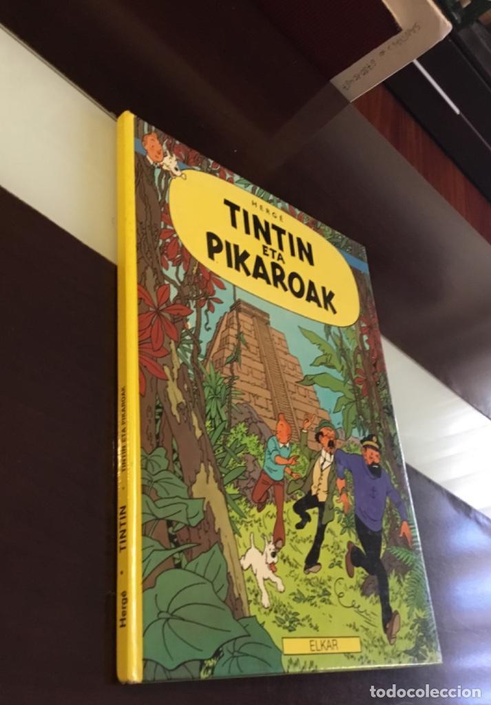 Cómics: Tintin eta pikaroak buenisimo estado en euskera - Foto 4 - 189993891
