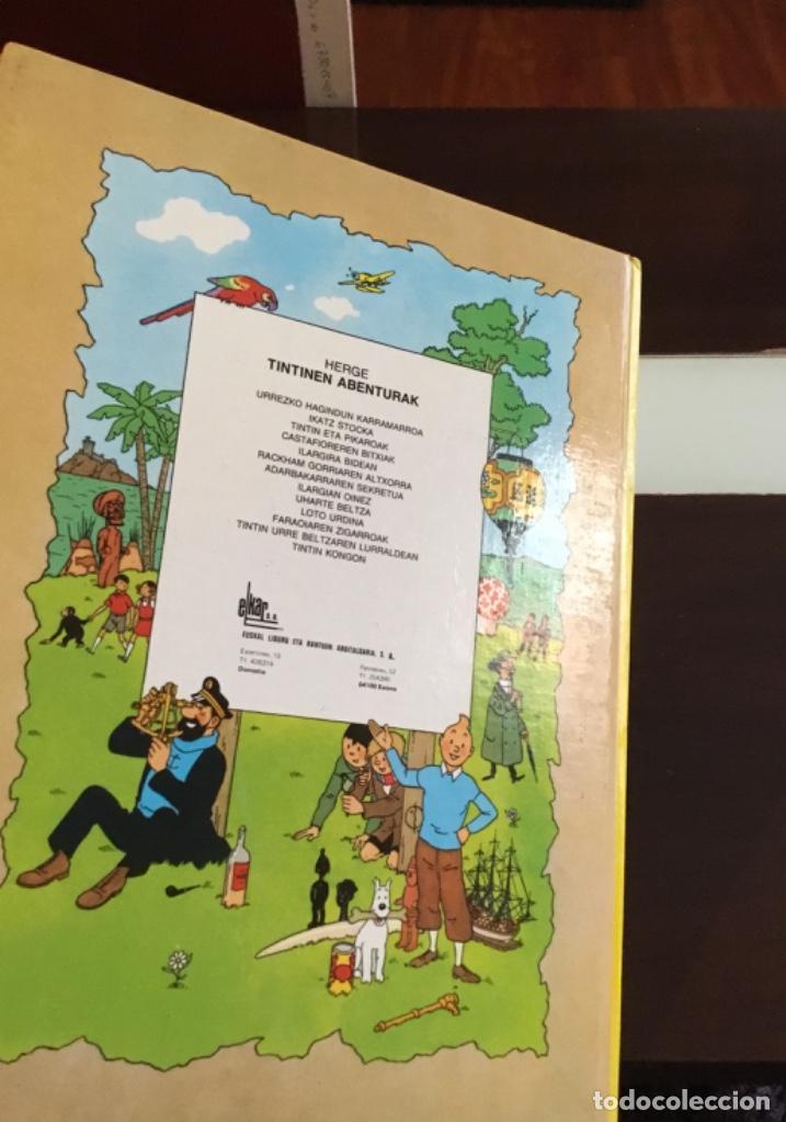 Cómics: Tintin eta pikaroak buenisimo estado en euskera - Foto 7 - 189993891