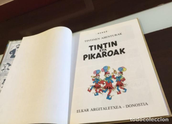 Cómics: Tintin eta pikaroak buenisimo estado en euskera - Foto 10 - 189993891