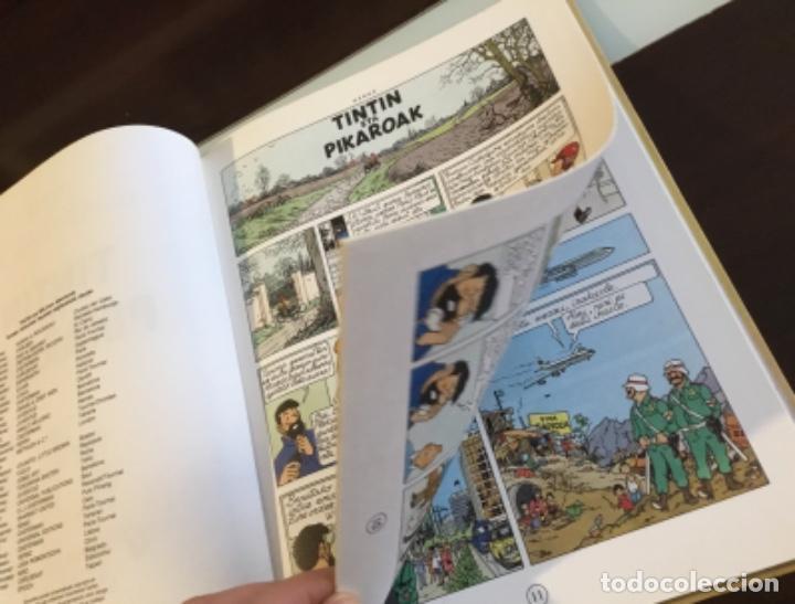 Cómics: Tintin eta pikaroak buenisimo estado en euskera - Foto 12 - 189993891