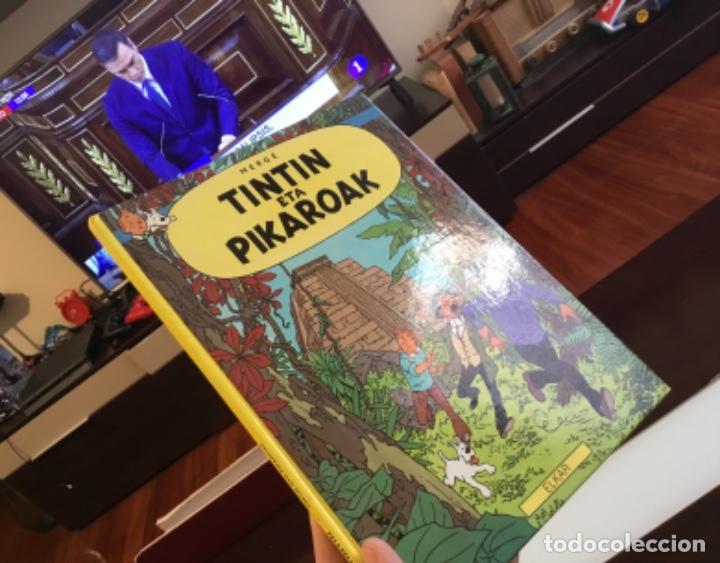 Cómics: Tintin eta pikaroak buenisimo estado en euskera - Foto 19 - 189993891