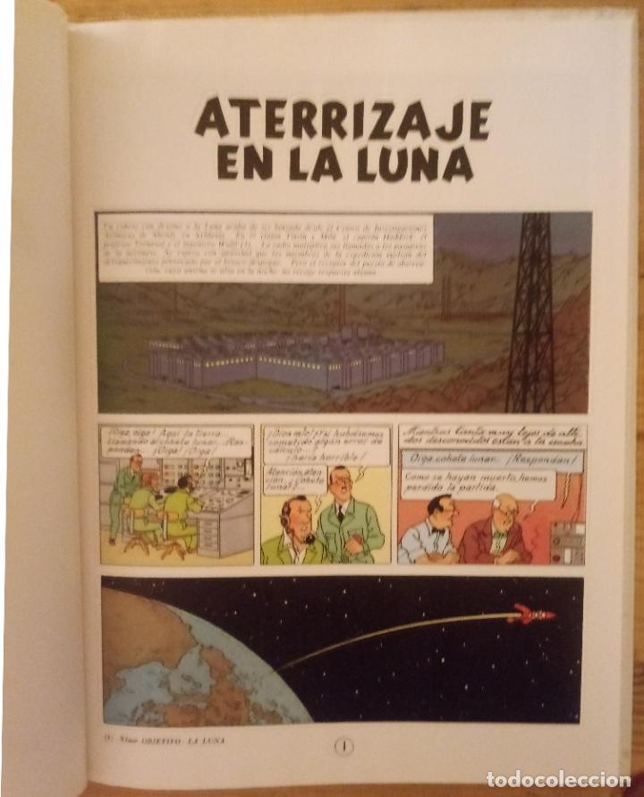 Cómics: LAS AVENTURAS DE TINTÍN - ATERRIZAJE EN LA LUNA - JUVENTUD 1987 - Foto 3 - 190002326