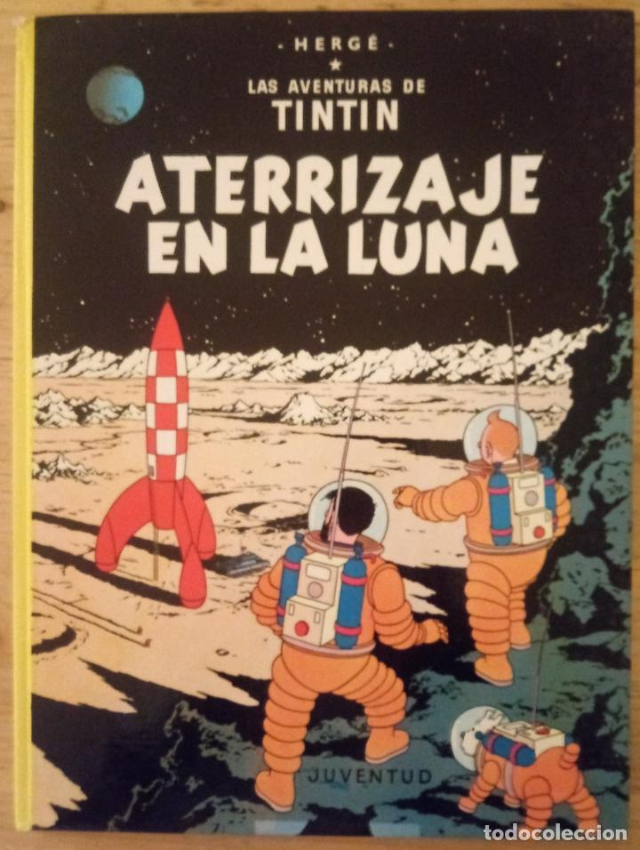 LAS AVENTURAS DE TINTÍN - ATERRIZAJE EN LA LUNA - JUVENTUD 1987 (Tebeos y Comics - Juventud - Tintín)
