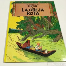 Cómics: AVENTURAS DE TINTIN . LA OREJA ROTA .JUVENTUD - HERGÉ , 9 EDICIÓN , 1985 . TAPA DURA . Lote 190171447