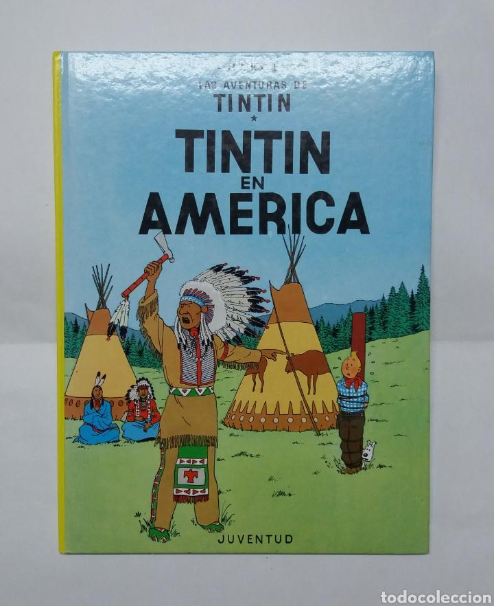 TINTIN EN AMERICA, JUVENTUD 2004 (Tebeos y Comics - Juventud - Tintín)