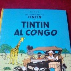 Cómics: TINTIN AL CONGO. AÑO 1983. EDITORIAL JOVENTUT.. Lote 190346661