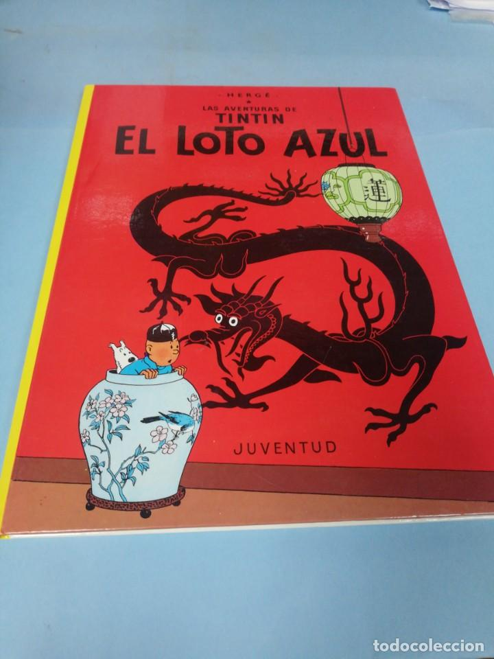 TINTIN. EL LOTO AZUL. (Tebeos y Comics - Juventud - Tintín)