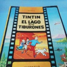 Cómics: TINTIN Y EL LAGO AZUL DE LOS TIBURONES . Lote 190419673