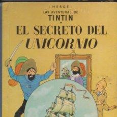 Comics: TINTÍN -- EL SECRETO DEL UNICORNIO -- 4ª EDICIÓN . Lote 190595023