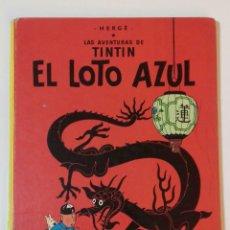 Cómics: CÓMIC TINTIN -EL LOTO AZUL-. DÉCIMA EDICIÓN 1986. Lote 190636910