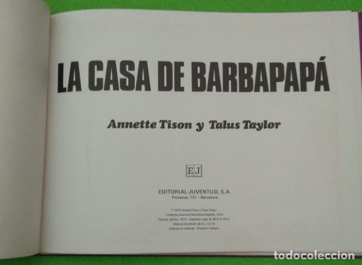 Cómics: LA CASA DE BARBAPAPÁ - PRIMERA EDICIÓN 1973 - ANNETTE TISON Y TALUS TAYLOR - VER FOTOS - Foto 2 - 190637603